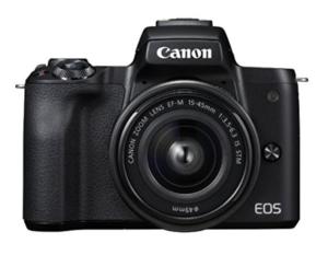 EOS Kiss Mカメラ