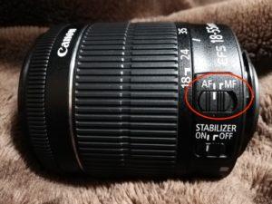 カメラレンズ側面画像