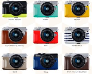 Canon M100フェイスジャケットの画像