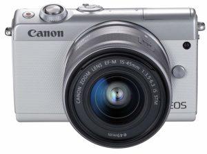Canon M100の画像