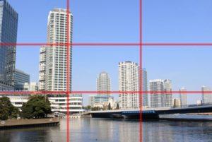 三分割法の構図写真