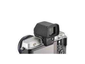 オリンパスカメラに外付けEVS付き画像