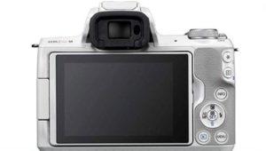 ファインダーありのミラーレスカメラの画像