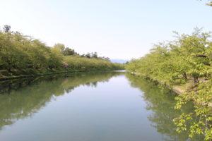 春陽橋から見た風景画像