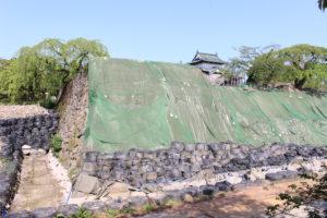 弘前城(本丸)移動後の石垣の画像