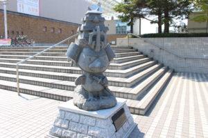 たか丸くん石像の画像